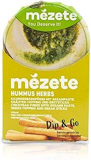 Mezete Dip & Go Herb Hummus, 92g,3247