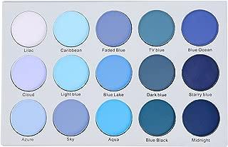 Kara Beauty ES22 15 COLOR SMOKY BLUE EYESHADOW