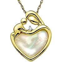 Finecraft Mother & Child Heart Pendant