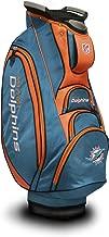 Team Golf NFL Victory Golf Cart Bag, 10-way Top with Integrated Dual Handle & External Putter Well, Cooler Pocket, Padded Strap, Umbrella Holder & Removable Rain Hood (Renewed)