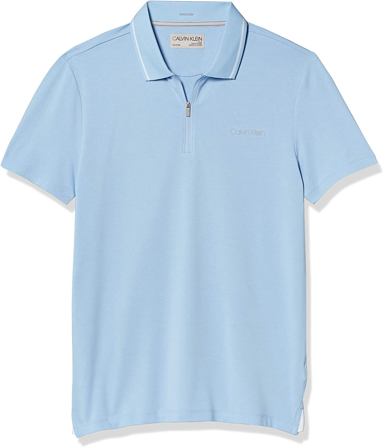 Calvin Klein Men's Inventory cleanup selling sale Move 365 Short Wick Moisture Quick Sleeve Dry Denver Mall