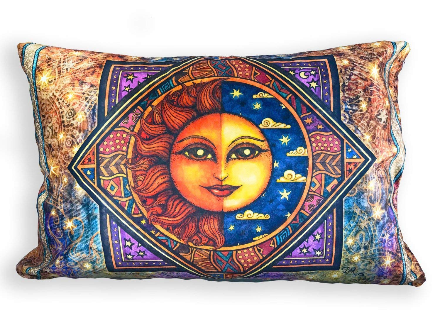 Sun Moon Recommended Daybreak supreme Pillow Case by Morris Dan