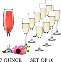 inexpensive glass champagne flutes