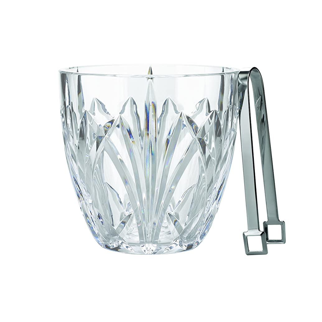 穏やかな粘性のグリットMarquis by Waterford Brookside Ice Bucket, Clear by Marquis By Waterford
