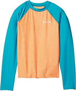 Mini Breaker Printed Long Sleeve Sunguard (Little Kids/Big Kids)