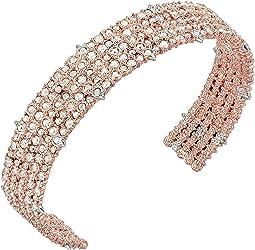 Crystal Lace Cuff Bracelet