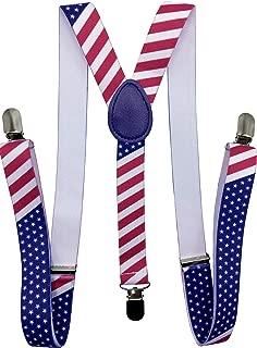 CD Solid Color Suspenders Y-Back   Adjustable and Elastic  