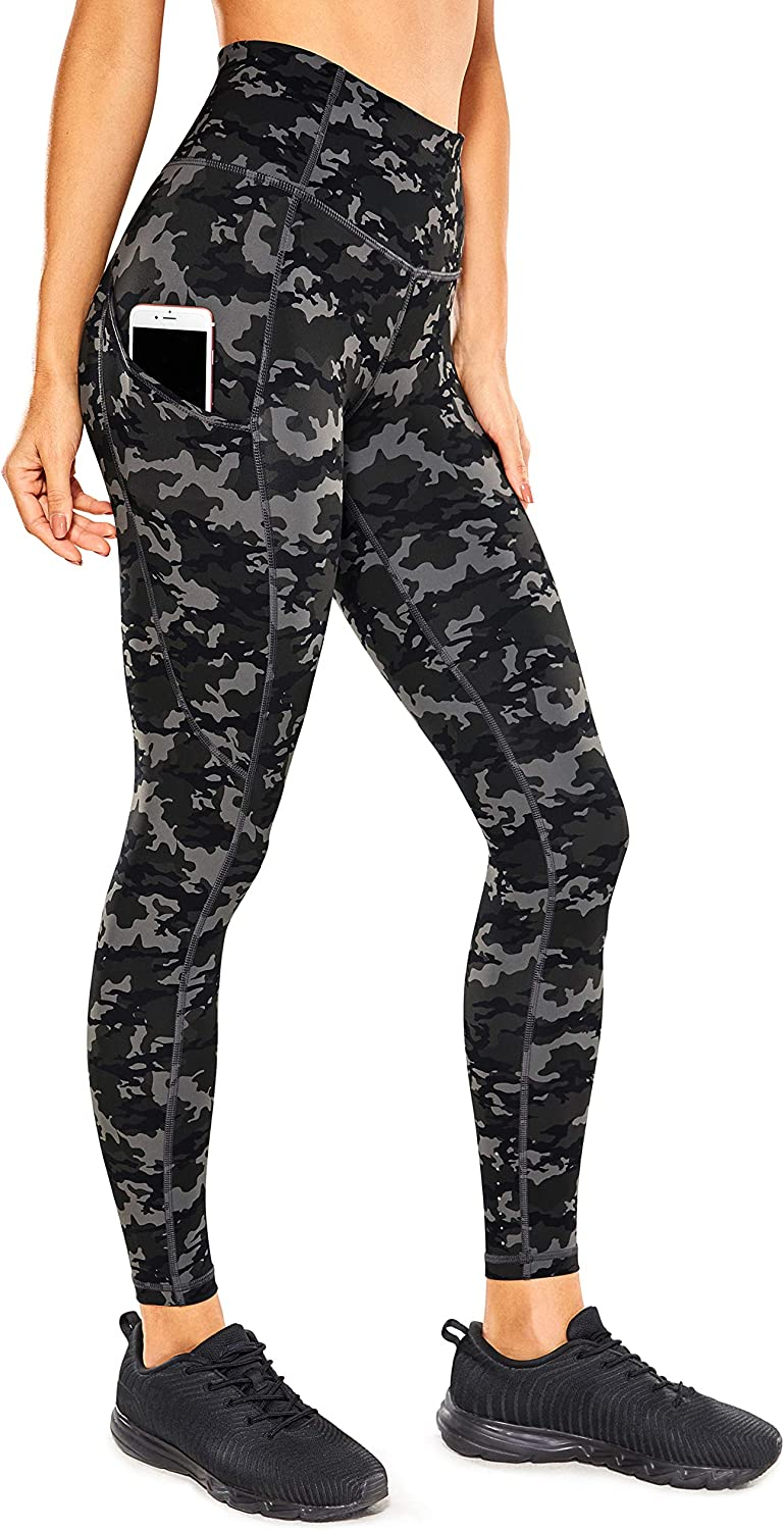 CRZ YOGA Women's Naked Feeling New Shipping Free Workout Leggings - Houston Mall 25 High Inches