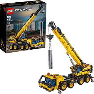LEGO Technic Mobile Crane 42108 Building Kit, A Super Model Crane to Build for Any Fan of Construction Toys, New 2020 (1,2...