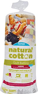 Fairfield SNTY903 Soft and Toasty Natural Cotton Batting, 90