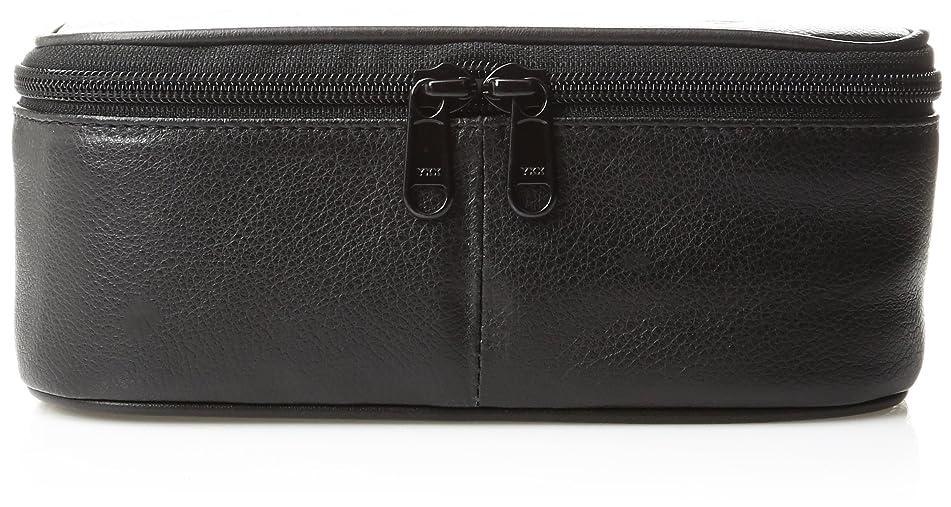Dopp Men's Travel Express Mini Top Zip Travek Kit-Leather