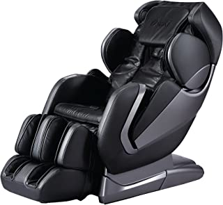 Titan Pro Alpha Zero Gravity Massage Chair, L Track, Foot Rollers, Space Saving Design, Bluetooth Speakers, FDA Massage Chair (Black)