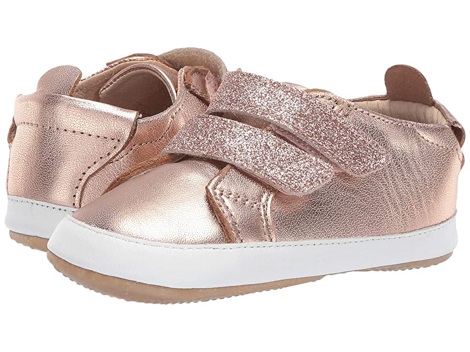 Old Soles Bambini Glam (Infant/Toddler) (Copper/Glam Copper) Girl