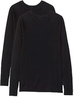 comprar comparacion Iris & Lilly Camiseta térmica Mujer, Pack de 2