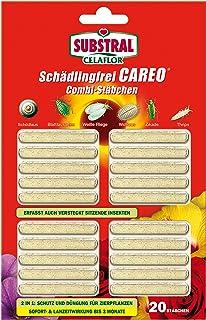 Substral Celaflor Schädlingsfrei Careo Combi-Stäbchen, mit Pflanzenschutz und Düngerfunktion, 20 St