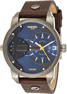 Diesel Men's DZ7339 Mini Daddy Analog Display Analog Quartz Brown Watch