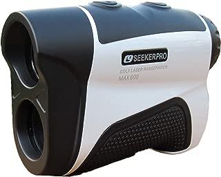 Seeker Pro Golf Rangefinder Laser Range Finder with Slope Adjust