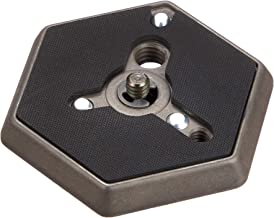 Manfrotto 130- 14 Hexagonal Quick Release Mounting Plate 1/4- 20-Inch Thread with Flush Mounting Screw