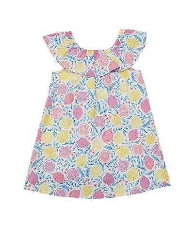 Hatley Kids Citrus Ruffle A-Line Dress (Infant/Toddler)