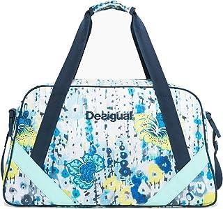 Desigual Luminescent Carry Shoulder Bag Blanco