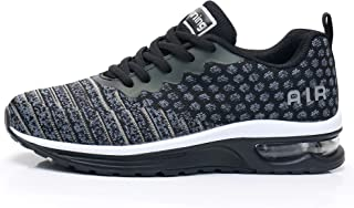 Women's Air Cushion Sneakers Lightweight Casual Gym Sports Athletic Tennis Comfortable Casual Walking Shoes for Travel US5.5-10