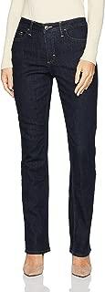 Riders by Lee Indigo Womens ZFC2MF Fleece Lined Slim Straight Jeans - Blue