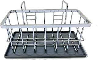 Sponsored Ad - Heavy Duty Sink Caddy for Wet Dish Rag and Sponge Holder - Hang, Suction, or Counter Use - by Mary's House