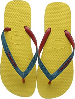Havaianas Top Mix, Chanclas Unisex Adulto, Oro Amarillo, 45/46 EU