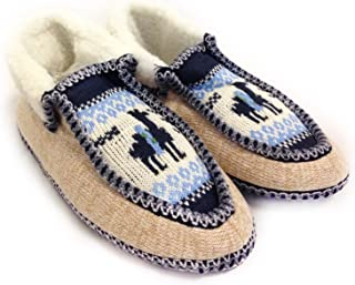 The Argentino Slippers Handmade Moccasin (Real Wool Inside!) from Salta, Argentina