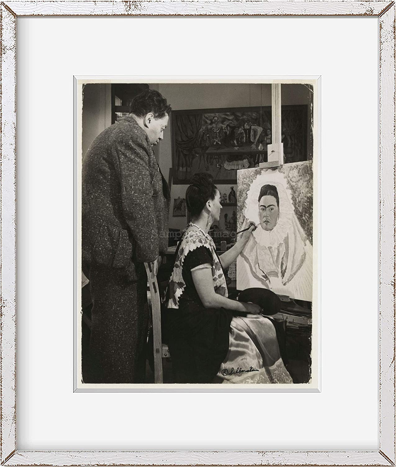 Time sale INFINITE PHOTOGRAPHS Photo: Wholesale Diego Rovera Rivera Fr Wife Watching