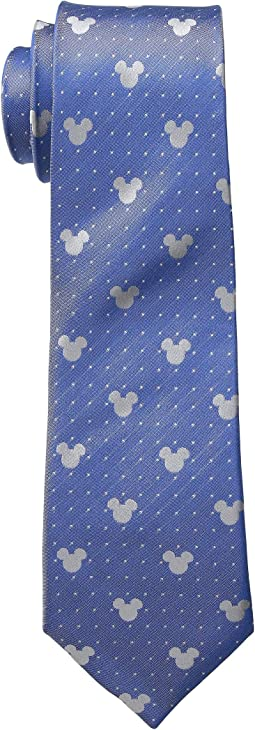 Mickey Mouse Pin Dot Tie