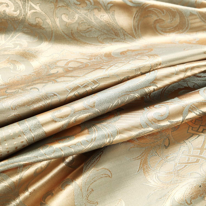 Ensembles de literie de Jacquard Queen/King Size Housse de Couette Literie Linge de lit Drap de lit A13DuvetCover200x230cm