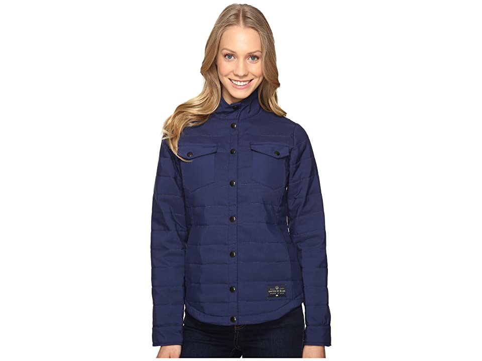 United By Blue Bison Snap Jacket (Navy) Women
