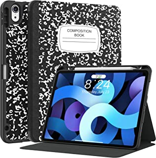 Supveco for iPad Air 4 Case / for iPad Air 4th Generation Case 2020 with Pencil Holder & Auto Sleep/Wake, for iPad Air 10....