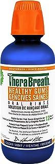 Therabreath Healthy Gums oral Rinse - Clean Mint | zinc & Tea Tree Oil To Neutralize Bacteria & Restore Gum tissue | Certi...