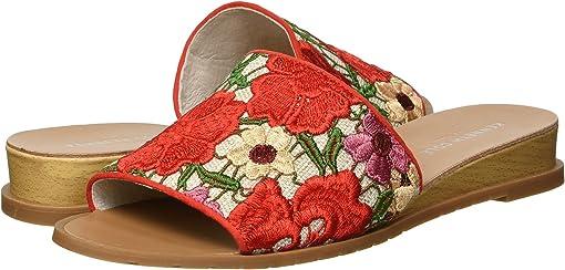 Red Multi Crochet
