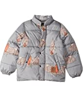 mini rodini - Bat Puffy Jacket (Toddler/Little Kids/Big Kids)