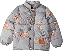 Bat Puffy Jacket (Toddler/Little Kids/Big Kids)