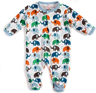 Magnificent Baby Baby Boys' Magnetic Smart-Close Footie