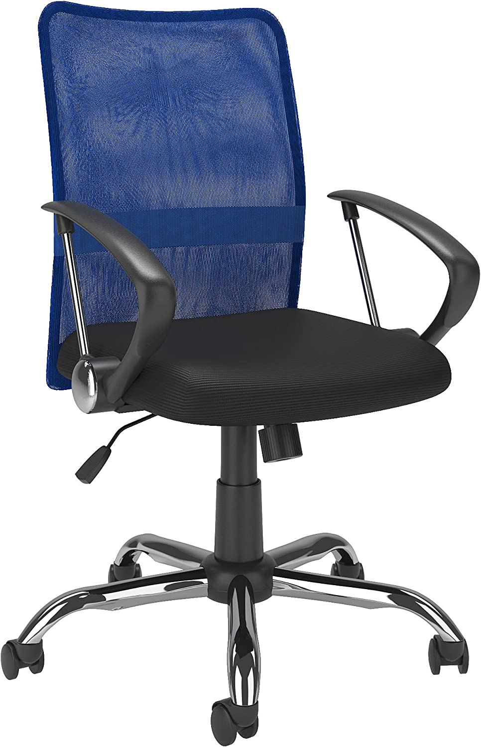 CorLiving WHL-718-C Office Chair, bluee