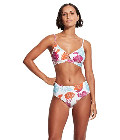 Seafolly Oasis Floral Twist Front Bralette