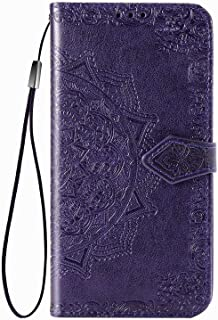Larook Case for Honor Play 4T Pro, Butterfly Pattern Flip Case Wallet Stylish with Stand Function and Magnetic PU Case Cov...