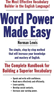 Word Power Made Easy: The Complete Handbook for Building a Superior Vocabulary (English ...