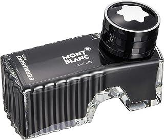 MONTBLANC モンブラン 万年筆 インク パーマネントブラック 黒 60ml 耐水性 ボトルインク 正規輸入品 品番107755
