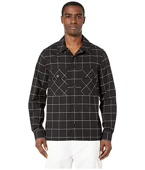 Paul Smith Black/White Grid Shirt Jacket