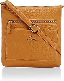 Naziha Vertical Front 2 Pocket Sling Bag