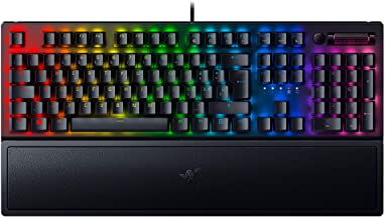 Tastiera da gaming con illuminazione chroma rgb razer blackwidow v3 green switch RZ03-03540700-R3H1