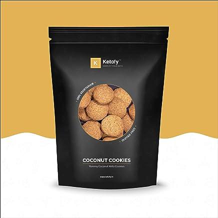 Ketofy - Coconut Keto Cookies (500g) | Coconut Flavoured Keto Cookies