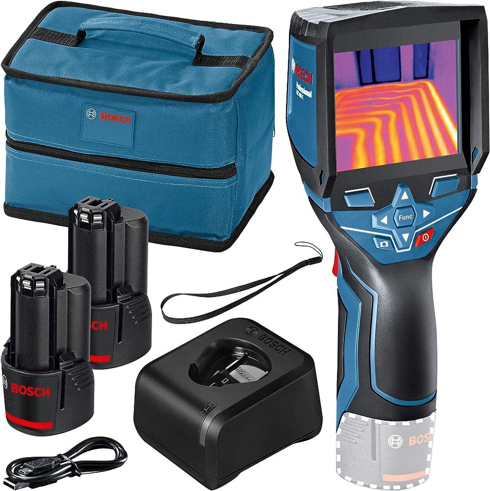 Bosch professional, system termocamera gtc 400 c,con funzione app, temperatura: da -10 °c a +400 °c 0601083103