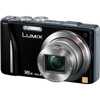 パナソニック デジタルカメラ LUMIX TZ20 ブラック DMC-TZ20-K